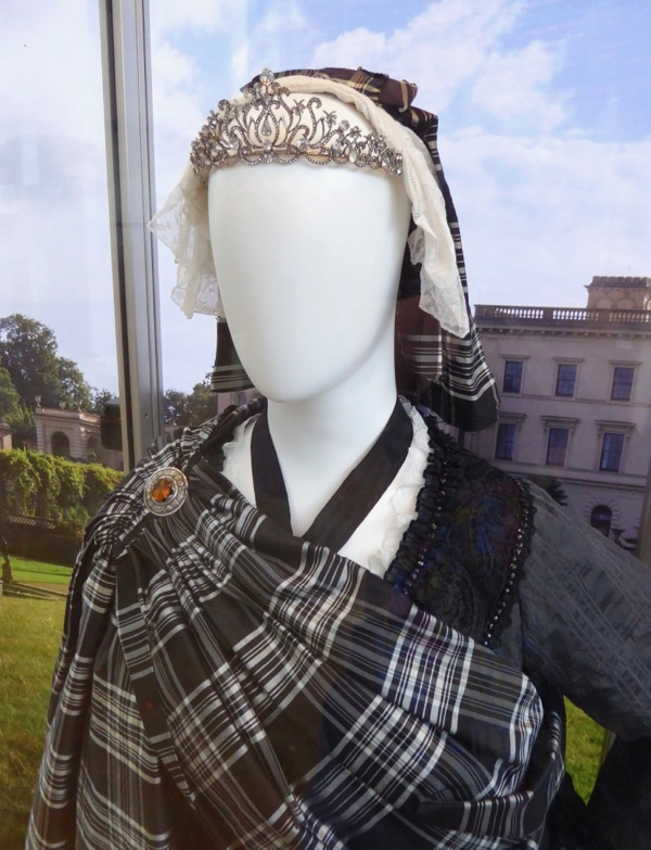 Queen Victoria Scottish costume Victoria and Abdul
