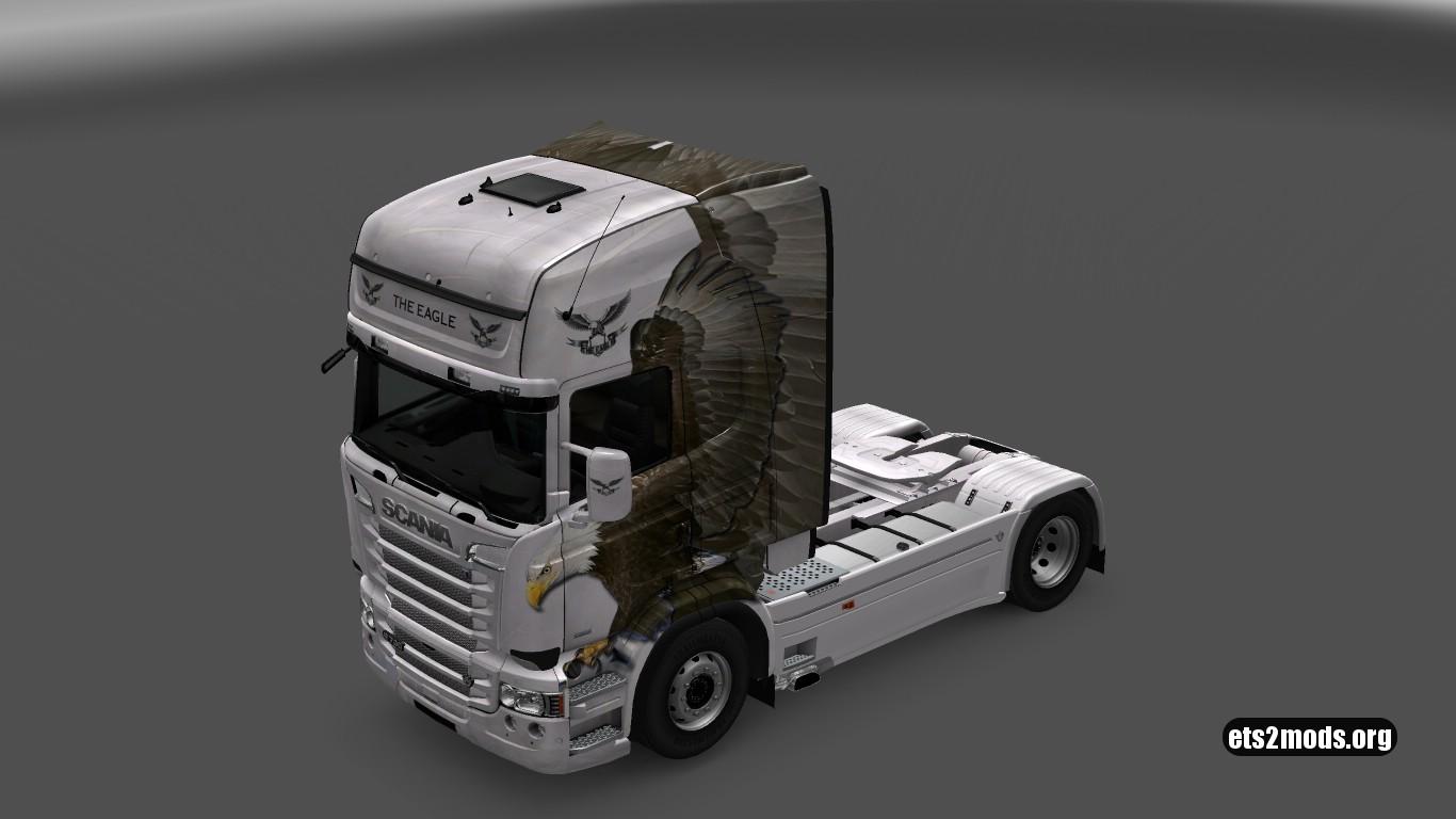Scania RJL The Eagle Special Skin