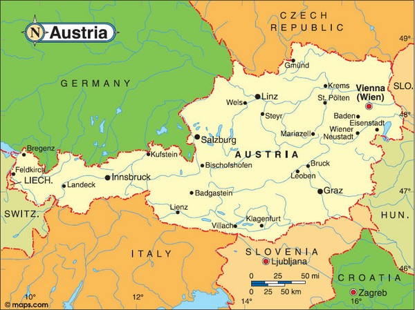 We Hand Picked All Map Of Austria In Europe Photos To Ensure That They Are  High Quality And Free. Discover Now Our Large Variety Of Topics And Our  Best ...