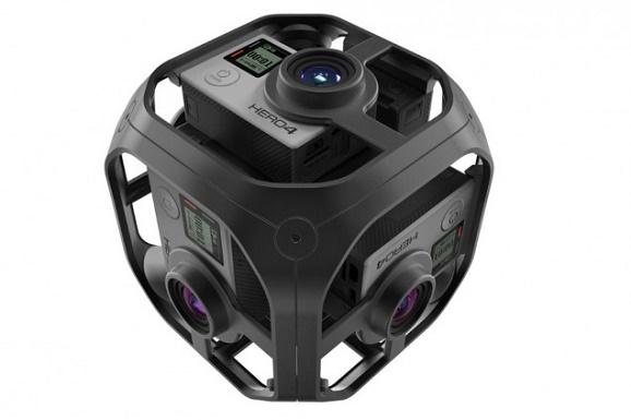 GoPro Miliki 3 Kamera Virtual Reality on-line paling baru untuk mensupport kreator