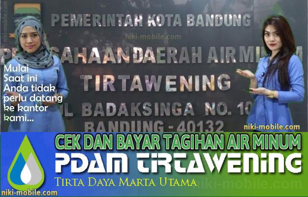 Niki Reload - Cara Cek dan Bayar Tagihan Air Minum PDAM Kota Bandung Jawa Barat