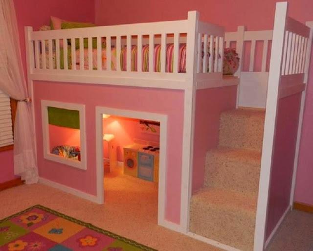 Une belle chambre pour filles