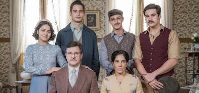 Retrato da família Lemos na segunda fase da novela das seis: trama avançará dez anos até a década de 1930