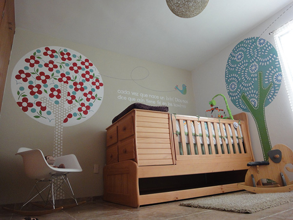 Desain Kamar Tidur Bayi Perempuan Baru Lahir Minimalis