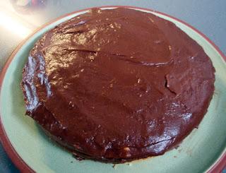 Cobertura de chocolate sin mantequilla