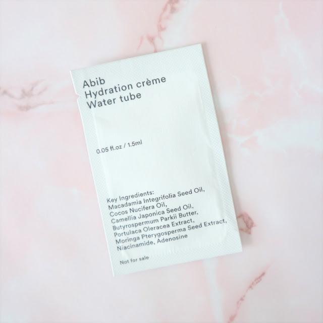 Abib Hydration Cream Water Tube