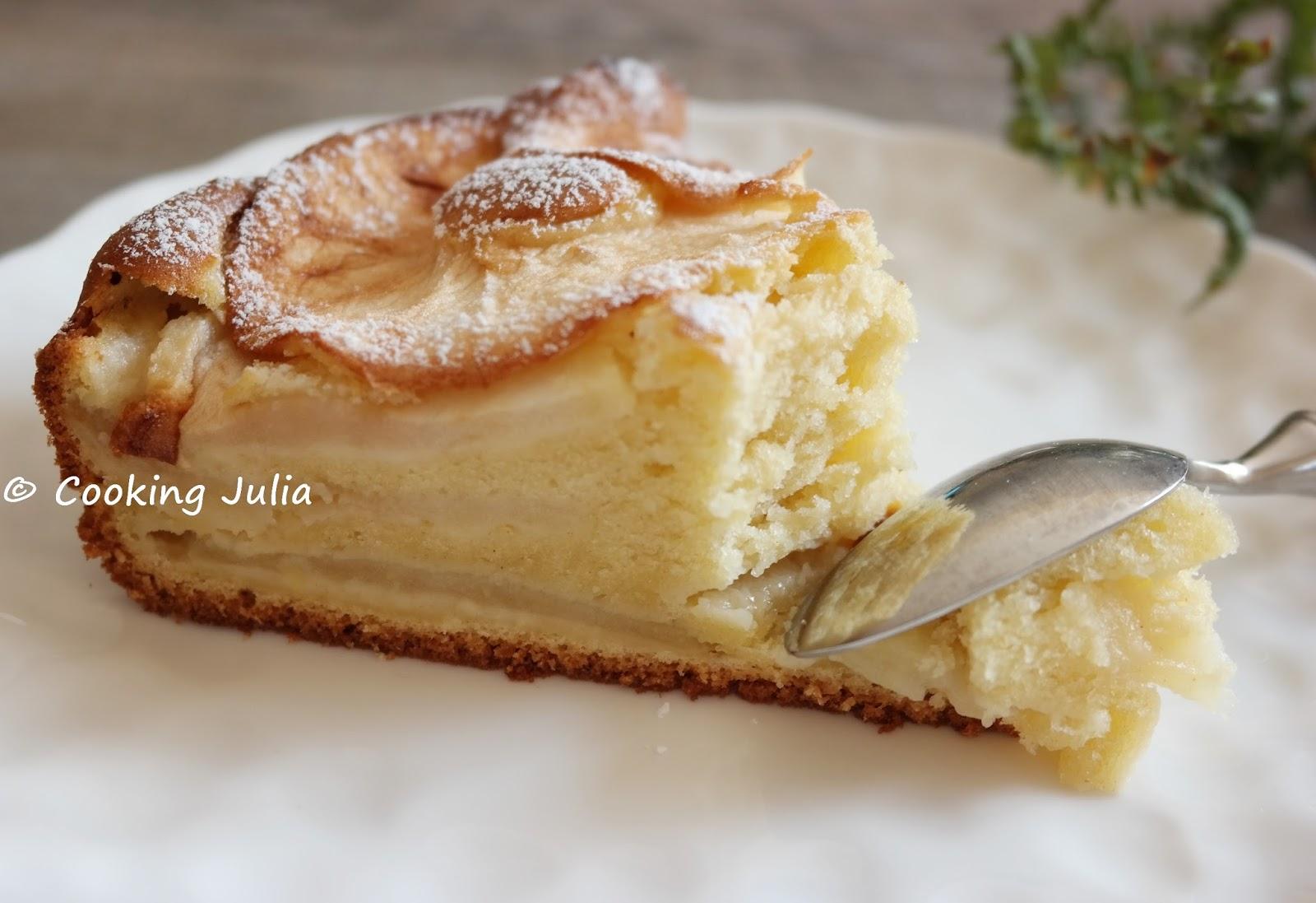 Cooking julia moelleux pommes mascarpone - Mon thermomix ne pese plus ...