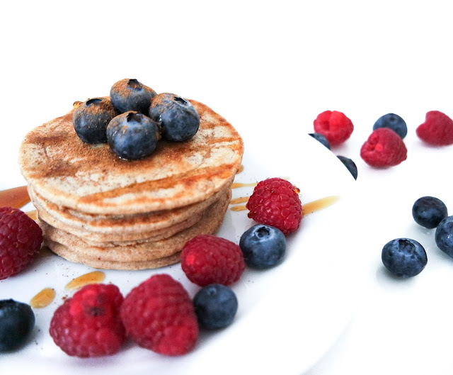 2 Ingredient Healthy Vegan Pancake Recipe