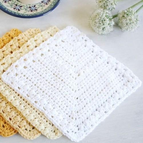 Create Adorable Crochet Dishcloths & Coasters - Tutorial