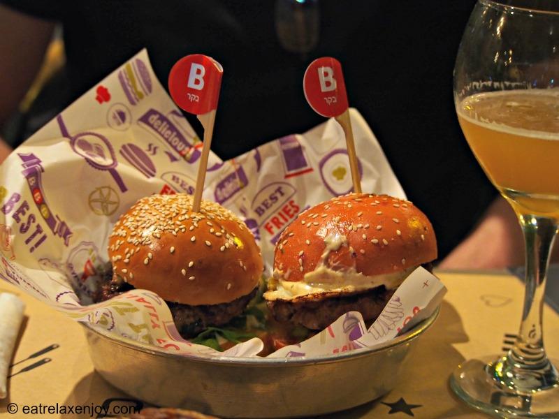 Burgus Burger Bar (BBB) – Isareli Diner