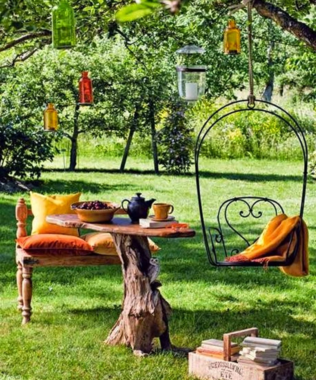 Beautiful Home Gardens Designs Ideas: Hagen I Skogen: Idyll I Hagen, Rom Til Inspirasjon