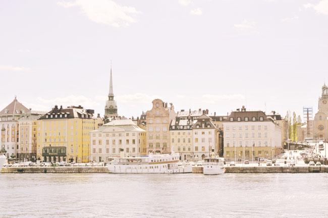 Best Stockholm Instagram Spots - Gamla Stan waterfront