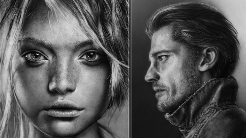 00-Olga-Larionova-Melamory-Realistic-Black-and-White-Portraits-of-Celebrities