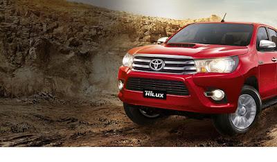 Toyota Hilux Medan 2017