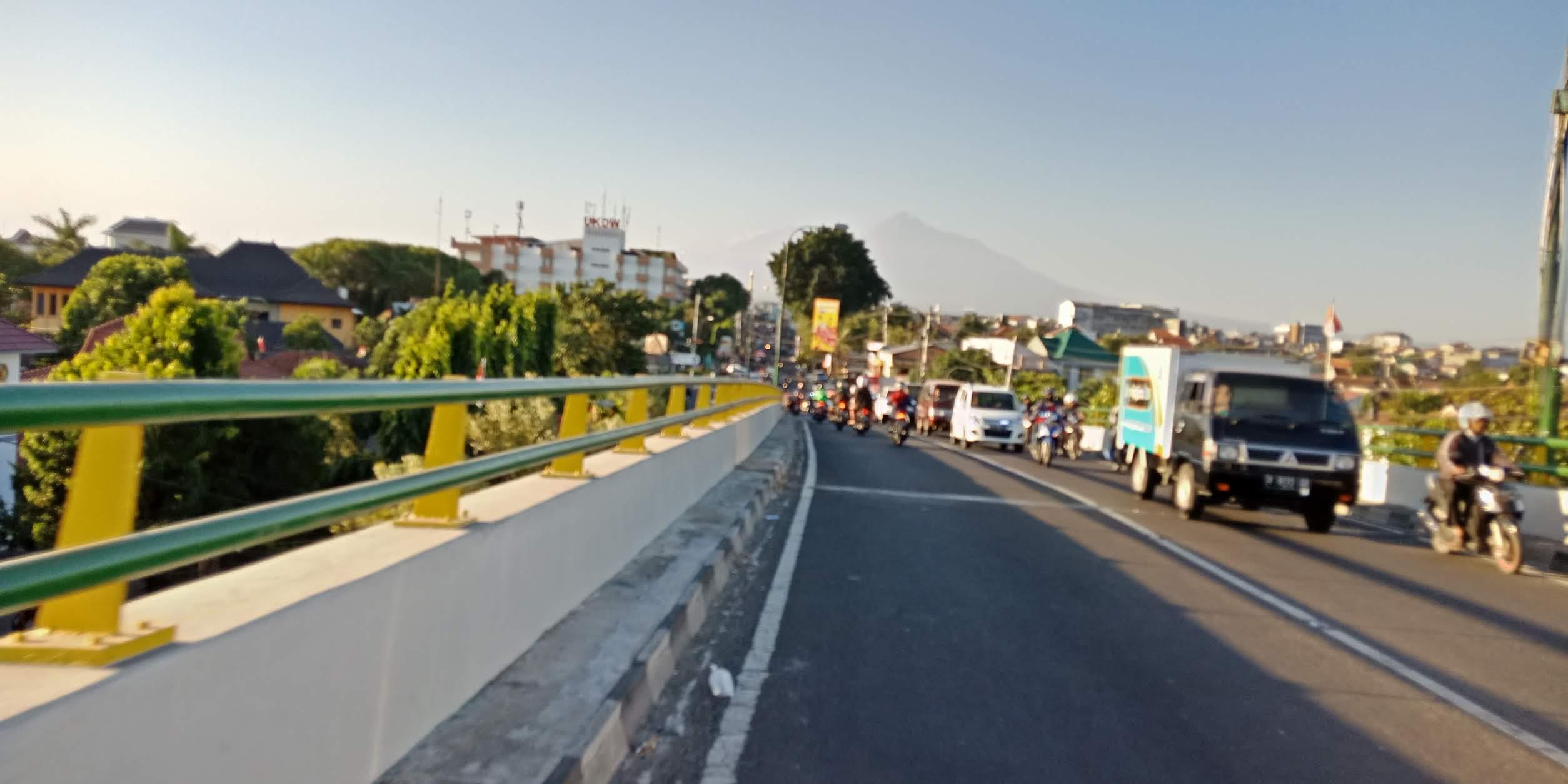 view Jogjakarta di sore hari