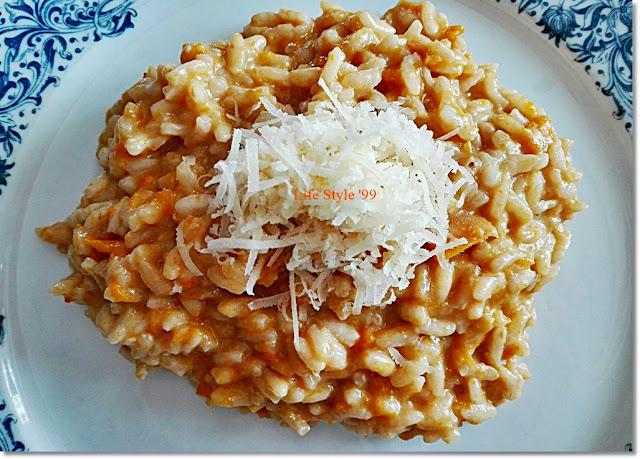 ricette di riso con la zucca