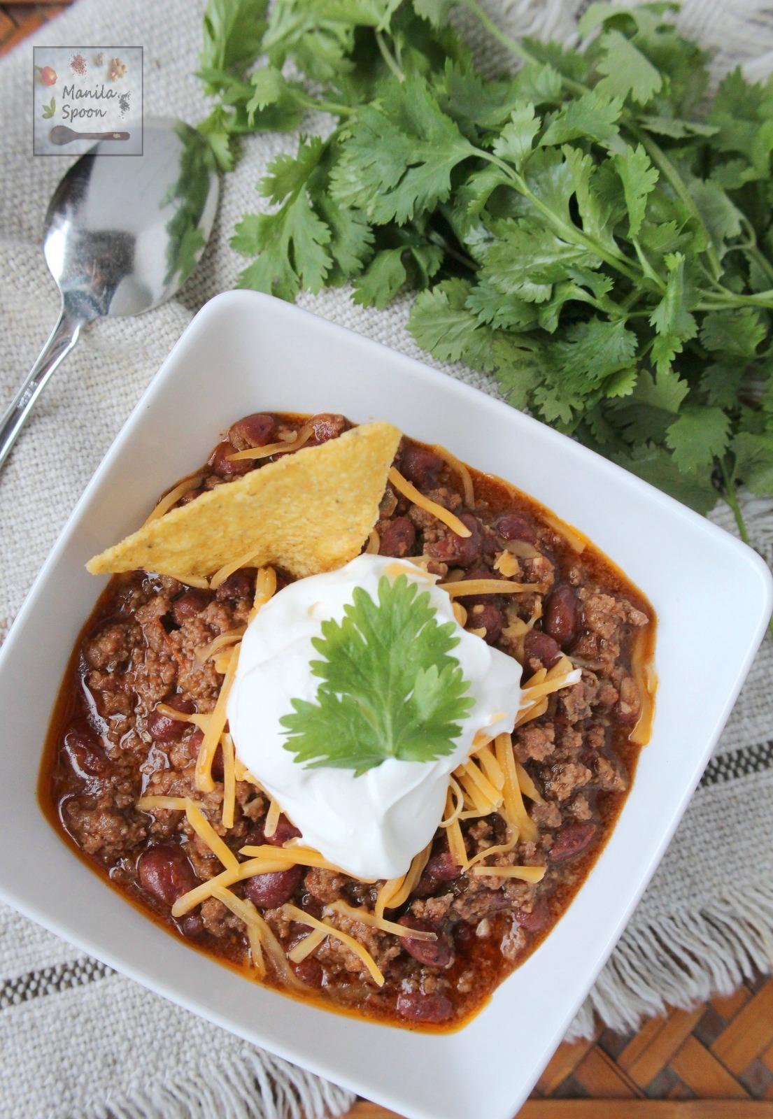 5 Easy And Delicious Chili Recipes Manila Spoon