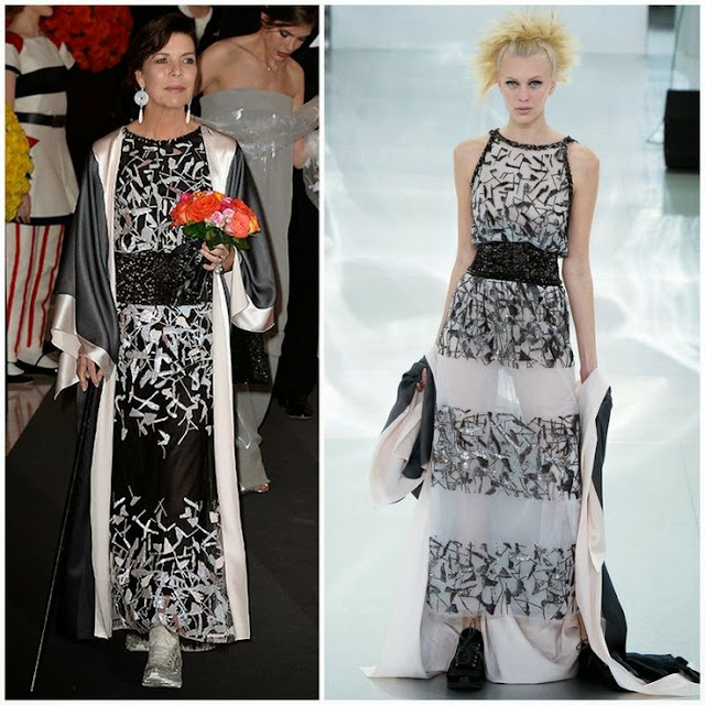 Princess Caroline in Chanel Couture