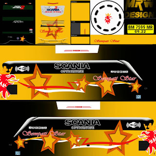 Download Livery Bus Sompati Star