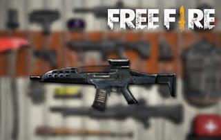 senjata terbaik free fire XM8