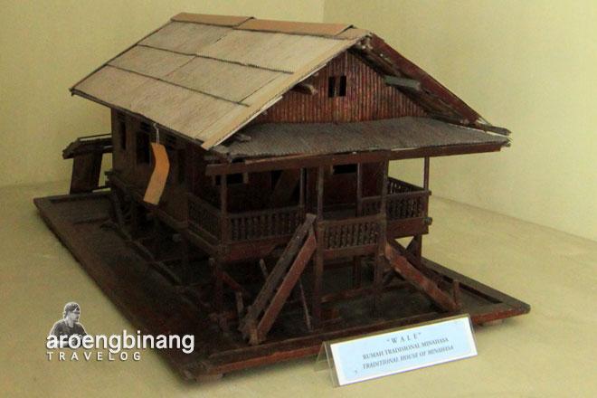 wale minahasa museum negeri provinsi sulawesi utara manado