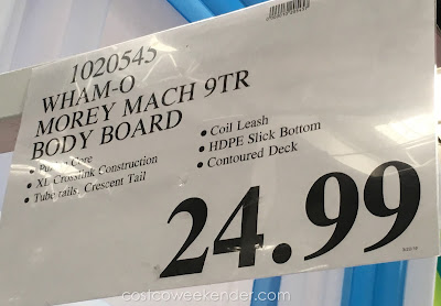 Deal for the Costco 1020545 Wham-O Morey Mach 9TR Body Board