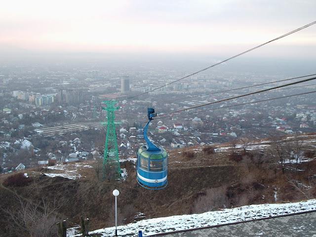 Almati, KOK TOBE,teleferik