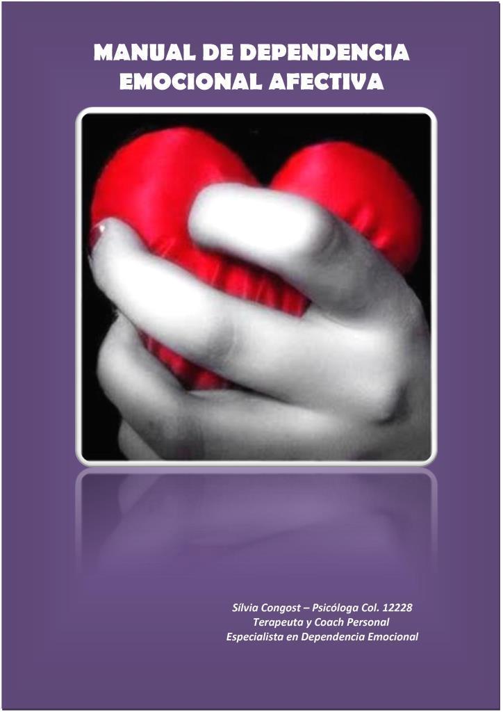 Manual dependencia emocional afectiva