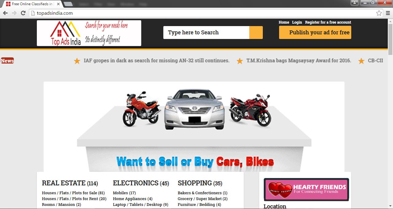 Topadsindia.com: Best Online Classifieds in India - Topadsindia.com