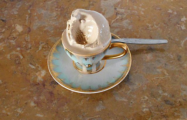 gelado de cafe receita
