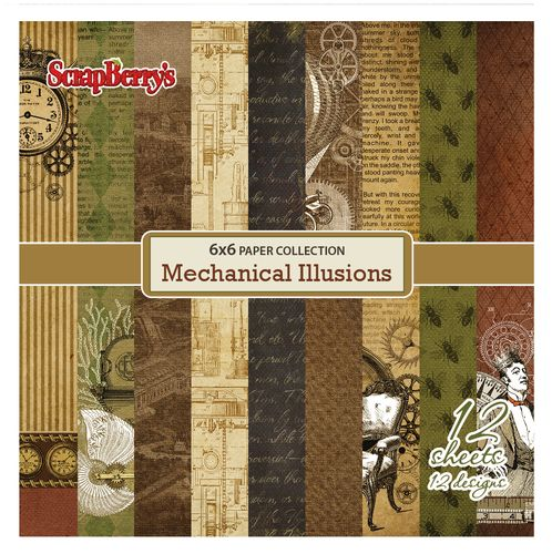 Ищу! хочу! Mechanical Illusions от scrapberrys