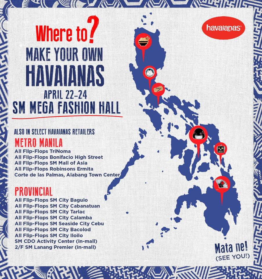 0f6a40ae000c Make Your Own Havaianas from April 22-24