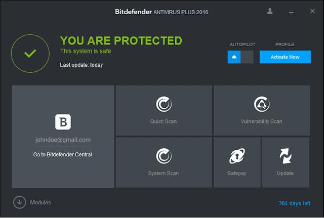 2017 Bitdefender Antivirus Plus