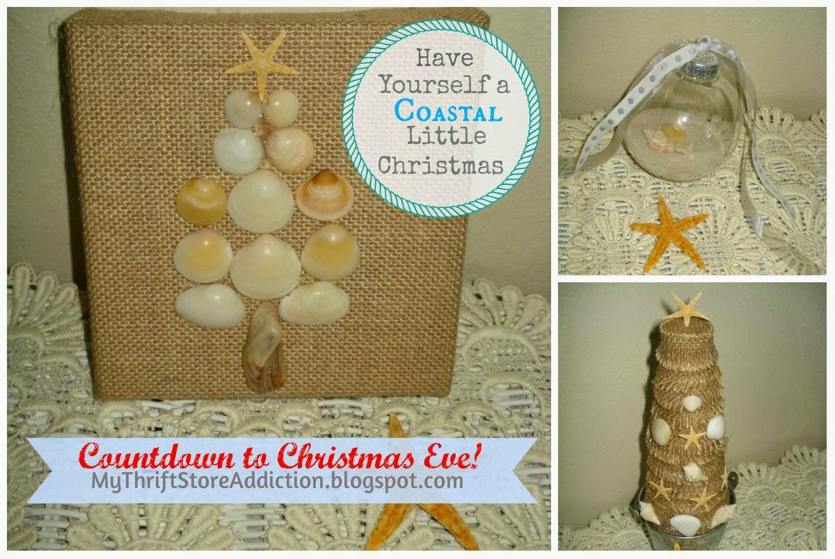 Coastal Christmas crafts
