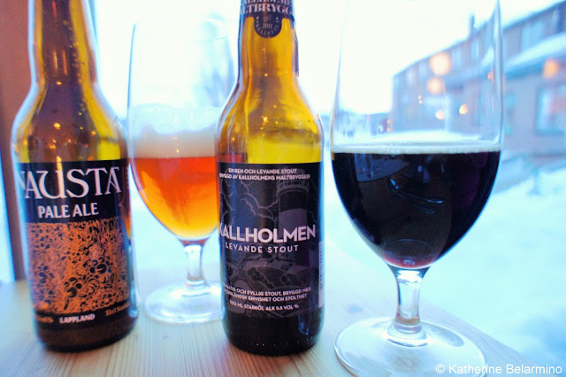 Nausta and Kallholmen Swedish Beer