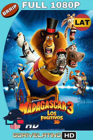 Madagascar 3 (2012) BRRip 1080p Latino-Ingles MKV
