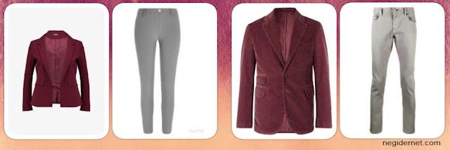 bordo-renk-ceket-altina-ne-giyilir-bayan-erkek-gri-pantolon