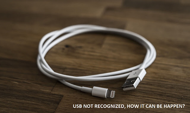 Mengatasi USB device not recognized