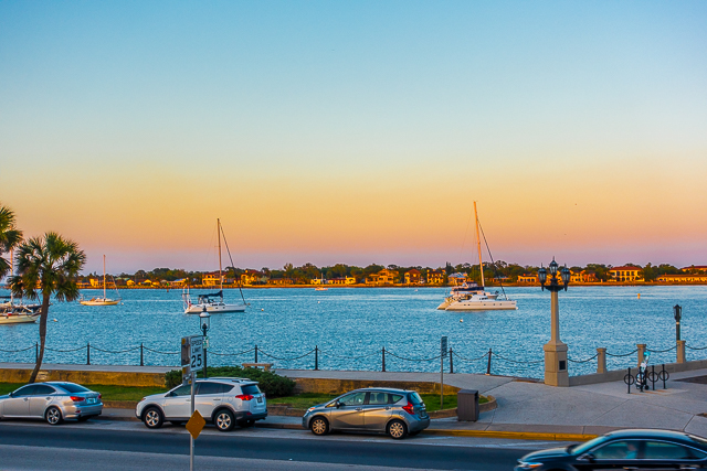 View from Harry's Bar and Grill - St. Augustine, FL