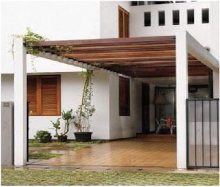 Model Kanopi Rumah Minimalis Anda Terbaru