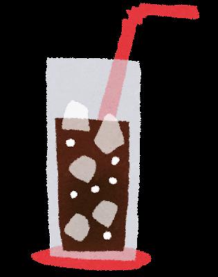コーラのイラスト