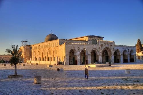 Masjid Al Aqsha Ditutup