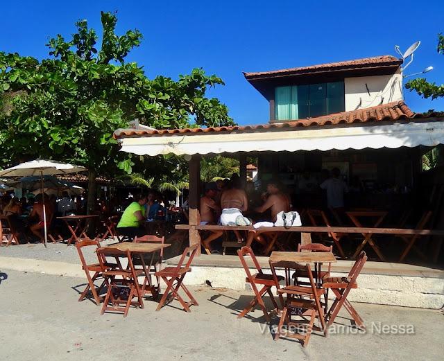 Bar Porto da Canoa situado no Porto da Barra, mais conhecido como Bar do Gordo