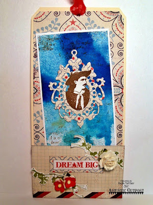 Stamps - Artistic Outpost Wander and Dream