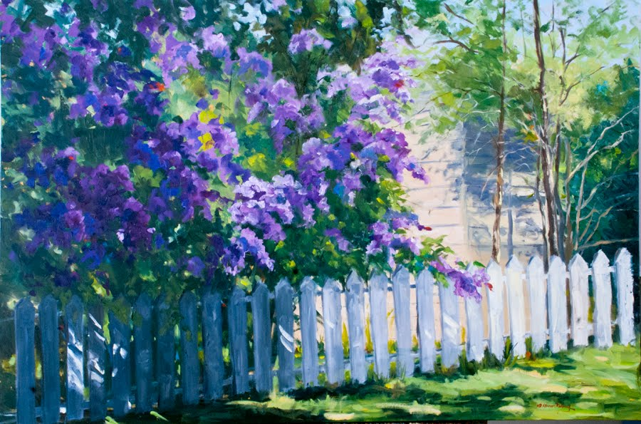How To Paint Lilacs In Oil