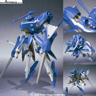 Figura Spearhead Charles Custom ROBOT SPIRITS SIDE LFO Koukyoushihen Eureka Seven
