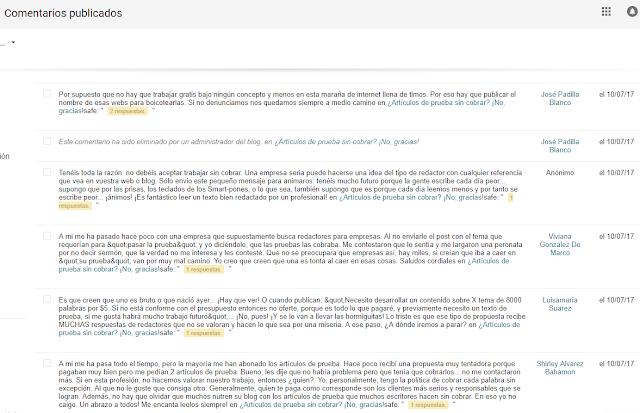 como gestionar los comentarios de tu blog