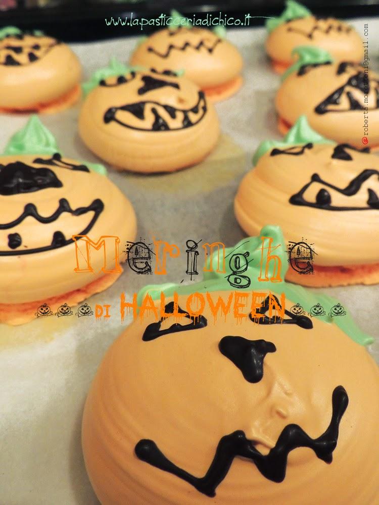 Meringhe di Halloween - www.lapasticceriadichico.it