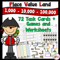 Place Value Land using Thousands Place