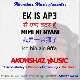 AKONSHAZ MUSIC - MIMI NI NYANI Ft. CASCOS X CROWN JAY X THE GREEN X RASH MARLEY (Tito Mboweni Remix)